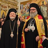 Metropolitan Joseph and Patriarch John X