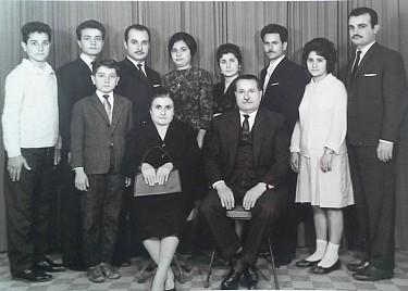 The family of Maryam & Antonios Nahas.