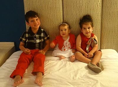 The children of Rita & Norman Nahas, and the great grandchildren of Antonios & Maryam Nahas.