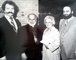 Archbishop E. Saliba visited in 1980 to evaluate the community's desire to establish an Antiochian Orthodox Church in Halifax.